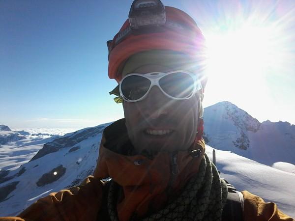 sommet du castor à 4228 mètres.