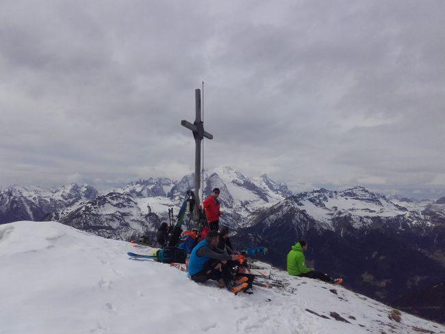 Pic nic au sommet du Mont Pore.
