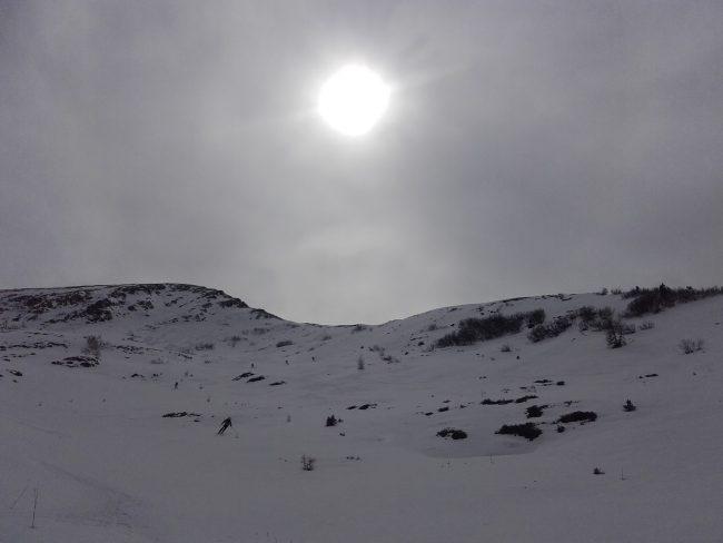 Ski du Mont Pore à Cernadoi.