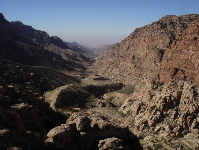 Le Wadi Dana est une superbe vallée de Jordanie.