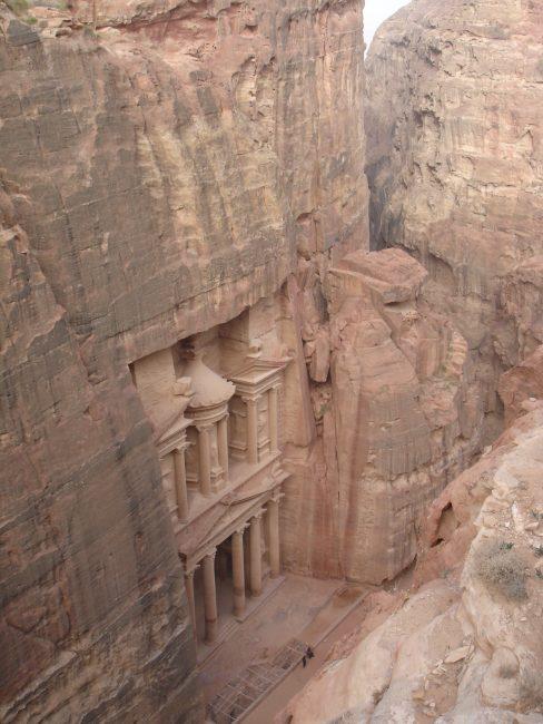 Le Khnazeh de Pétra en Jordanie.