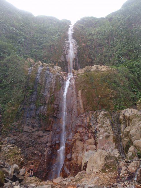 Les Chutes du Carbet en Guadeloupe.