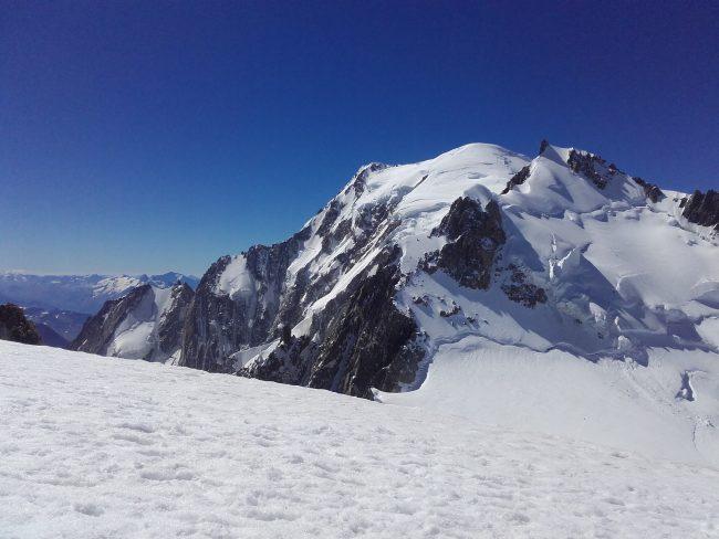 Stage Mont Blanc à Chamonix.