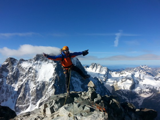Summit Coolidge pic Ecrins