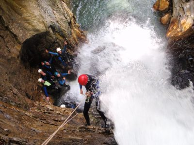 Canyoning hautes alpes