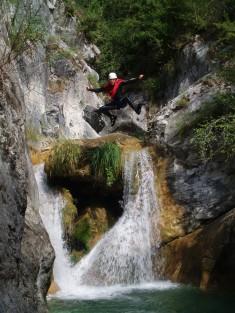 Canyon de la Maglia près de Nice.