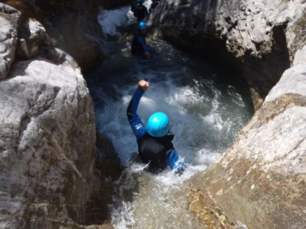 Canyoning vers Gap.