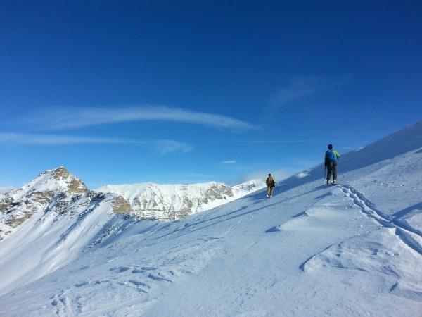 Randonnée à ski reallon