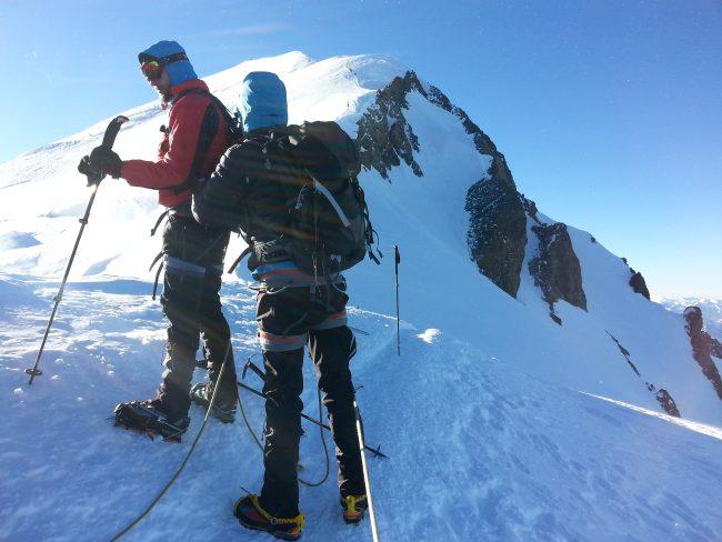 En avant vers le Mont Blanc