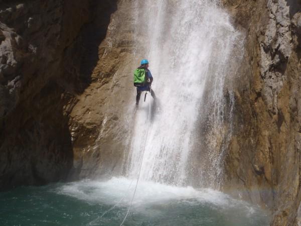 Canyoning de Pra Reboul.