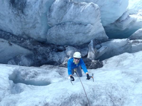 Ecole de glace massif du Mont Blanc.
