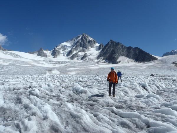 Ecole de glace glacier du Tour.