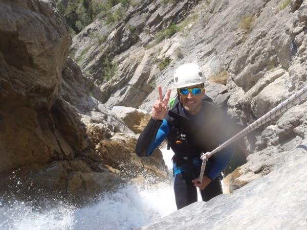 Canyoning dans Pra Reboul.