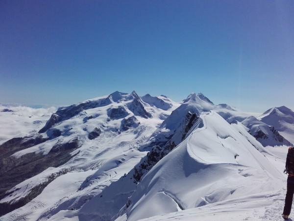 Monte Rosa, Liskam, Castor.