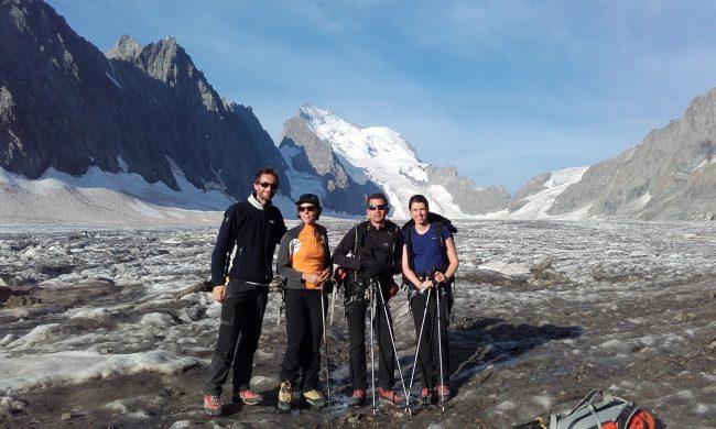 Stage alpinisme dans les ecrins.