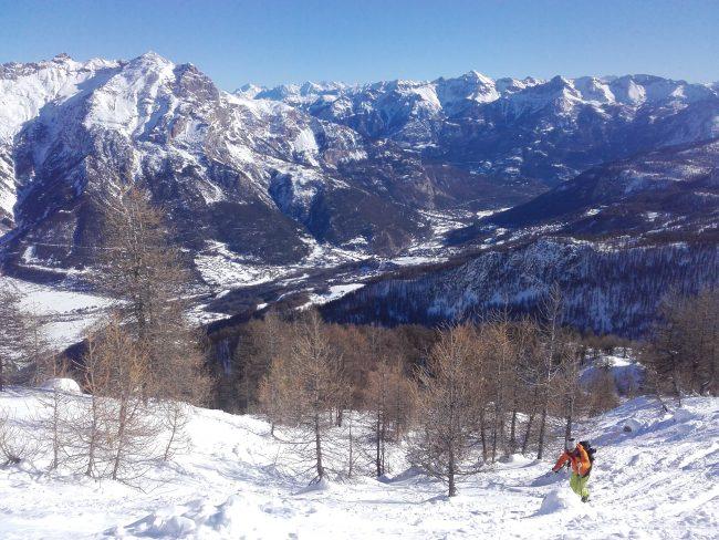 Rando à ski aux crête de Reychard.