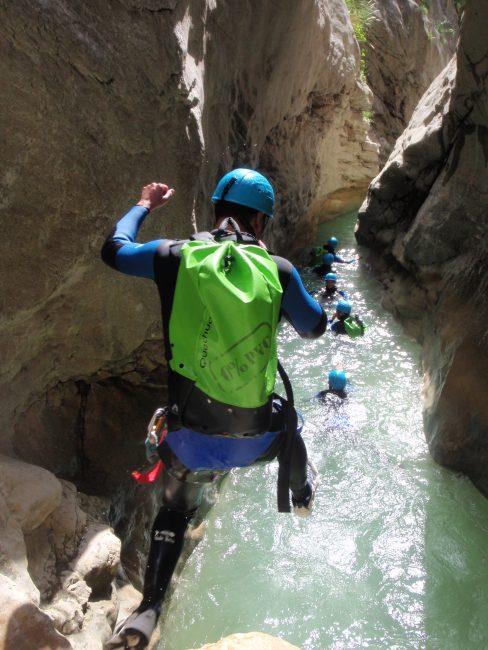 Le canyon de Riolan
