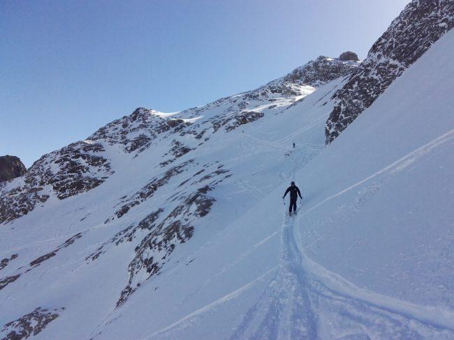 Ski la loose à la Grave.