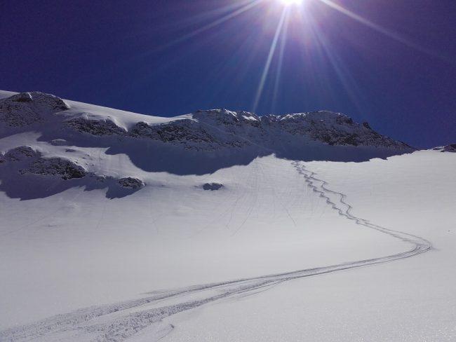 ski Serre chevalier et dome de monetier.