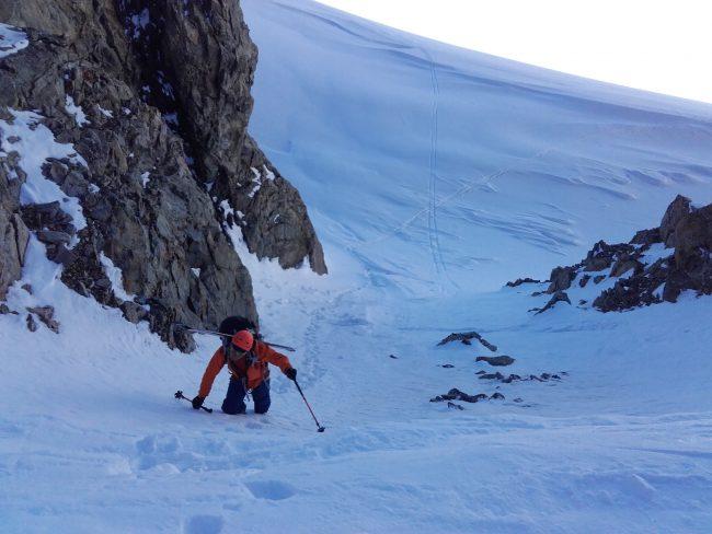 Ski col de la Roche faurio.