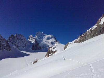 ski de rando col Emile Pic.