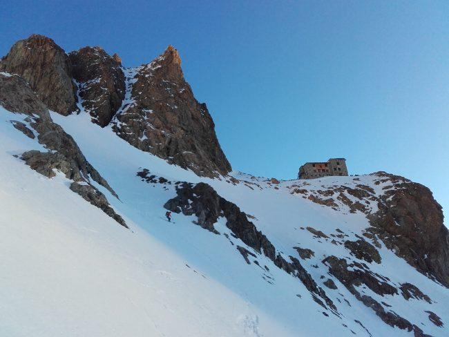 Ski refuge des ecrins.