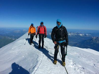 Sommet du Mont Blanc.