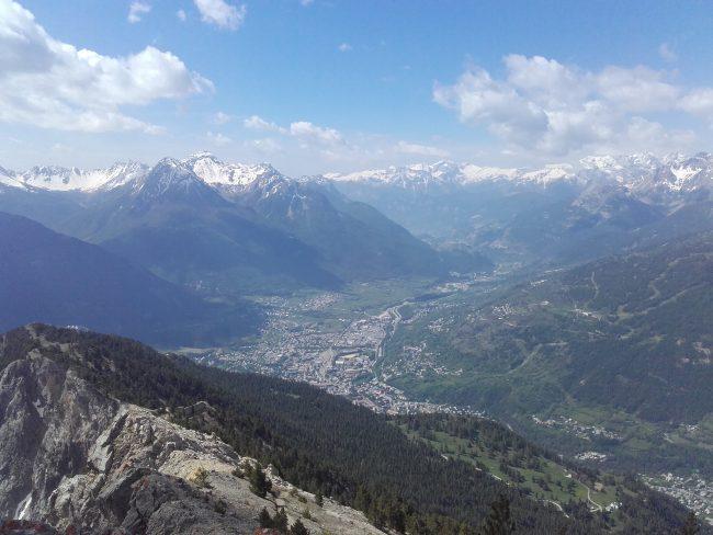 La vallée de Briançon.