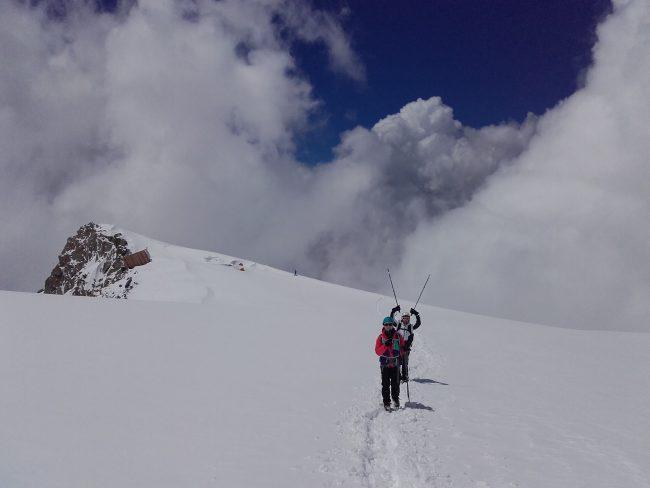 Le glacier de Tête Rousse