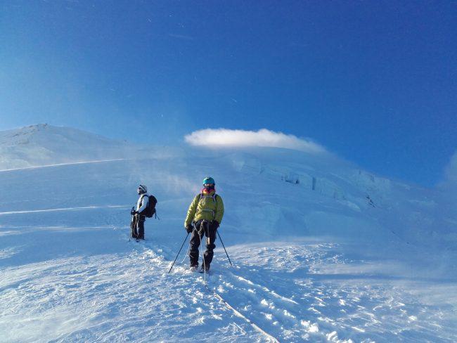 Tentative du Mont Blanc.