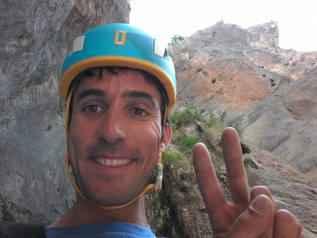 Julien LOSTE, canyon dans le Verdon