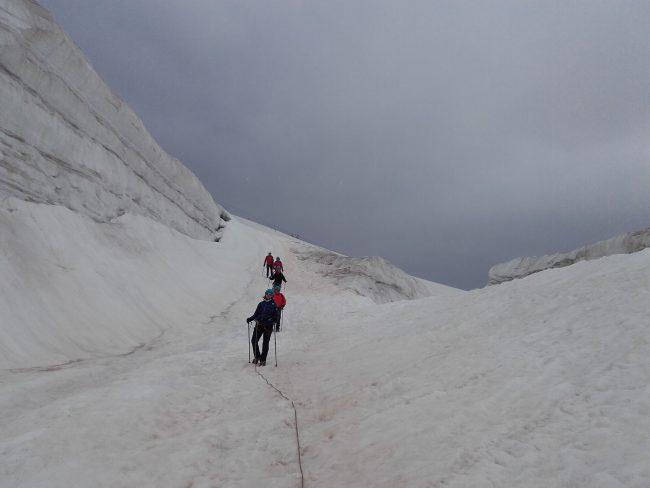 Randonnée au glacier de la Girose.