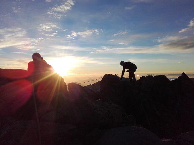 Stage débutant alpinisme.