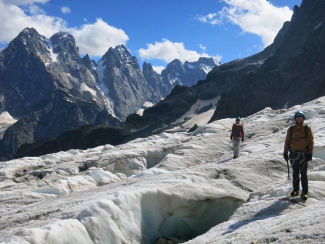 Stage découverte alpinisme dans les Ecrins.