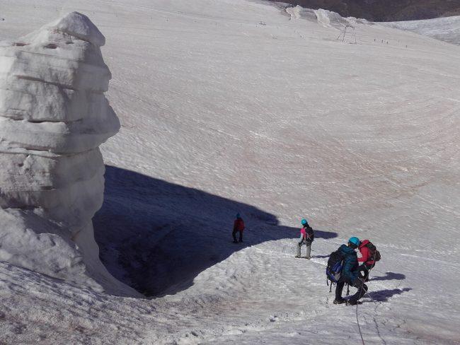 Rando au glacier de la Girose.
