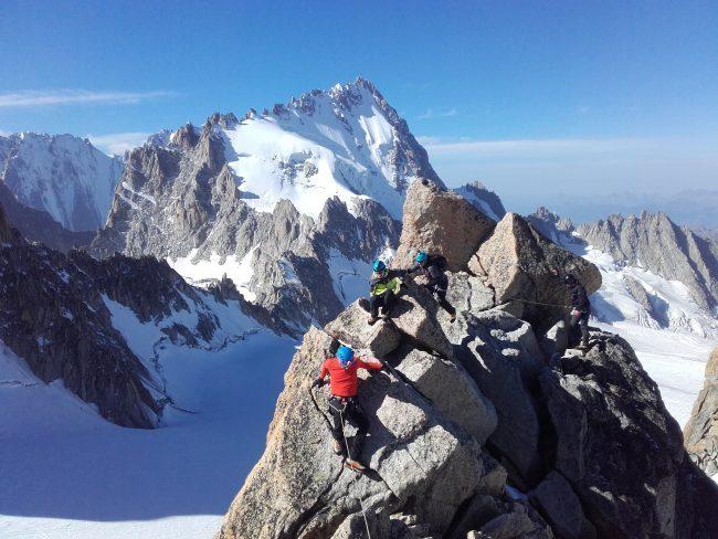 Vers le sommet de la petite Fourche.
