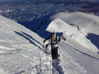 Voie normale du Mont Blanc en 3 jours.