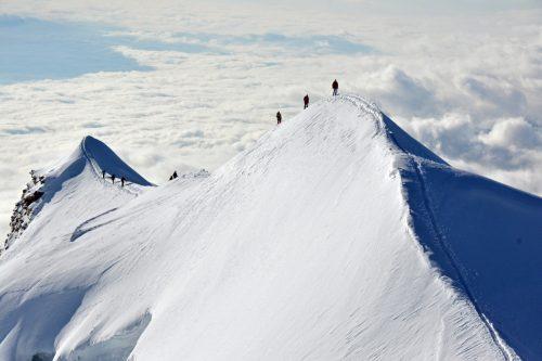 Stage alpinisme 4 jours autour du Mont Rose.