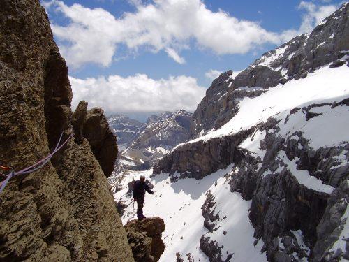 Stage d'alpinisme rocher dans les Pyrénées