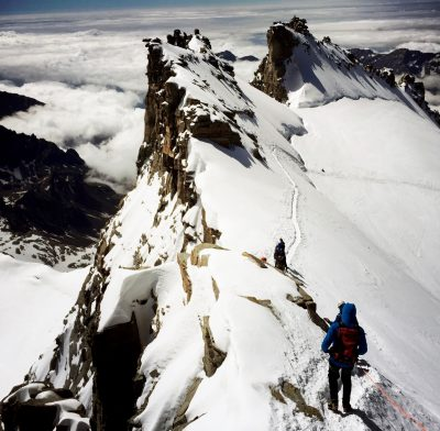 Stage d'alpinisme initiation au Grand Paradis.