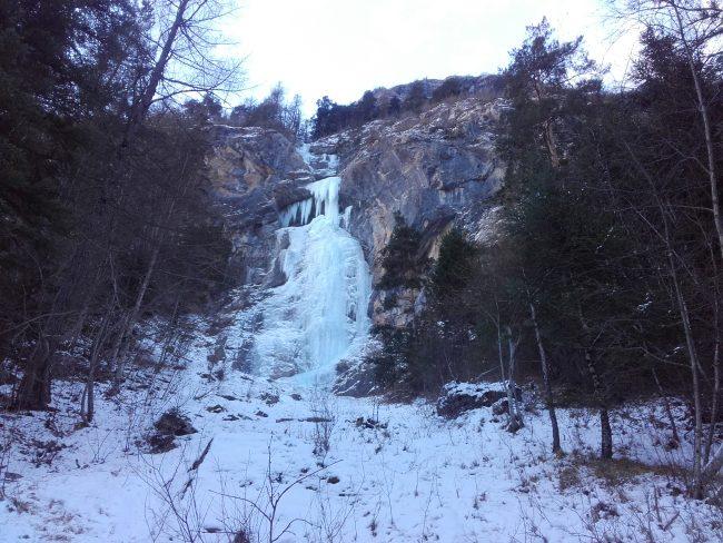 La cascade d'hiroshima au Fournel.