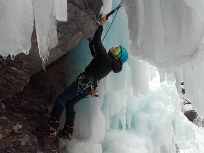 mixte et glace à Aiguilles dans le Queyras