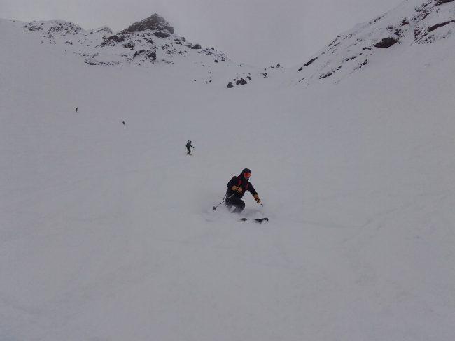 Ski dans la Montagnole à Serre che.
