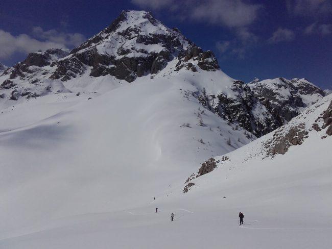 Col de la Trancoulette et Rocher Bouchard.
