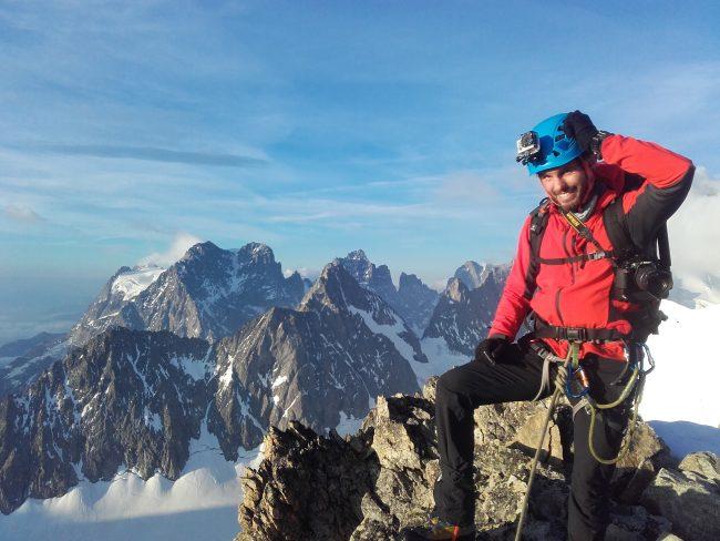 Super stage alpinisme dans les Ecrins.