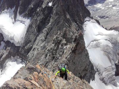 Traversée Pavé-Meije Orientale avec un guide de haute montagne.