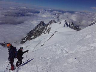 Le mont Blanc en 2 jours par les 3 Monts.
