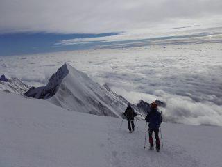 La traversée du Mont Blanc avec un guide.