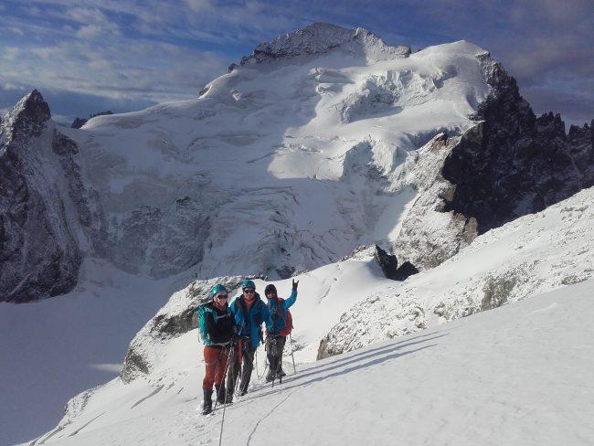 Stage de 3 jours d'initiation à l'alpinisme dans les Ecrins.