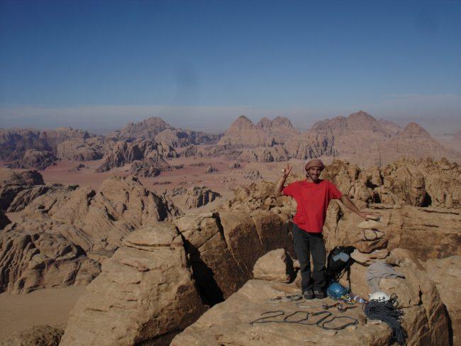 Un beau voyage en Jordanie grimpe et visite.